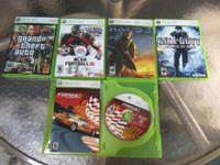 XBOX 360 Games.....Sims games...Rollercoaster Tycoon