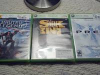 Xbox 360 games up for grabs:  *Brutal Legend - $5