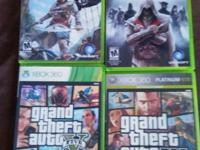 I am selling 8 xbox 360 games. i no longer have an xbox