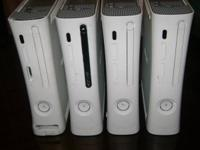 I have several Xbox 360 gaming systems for parts or