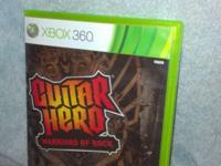 XBOX 360 GUITAR HERO Warriors Of Rock Pre-Owned In