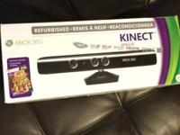 I have a XBOX 360 Kinect Refurb that works perfect I