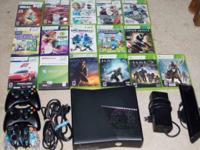 Up for sale good condition Xbox 360 (230 gb) with