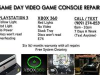 Professional XBOX 360 / PS3 repairs. Is your game