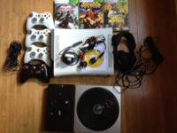 i have a xbox 360 arcade for sale w/20 gig hard drive i