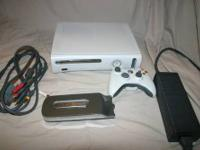 For sale is a Excellent condition White Pro Xbox 360.