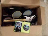 XBox 360 Rock Band Special Edition, comes with all the