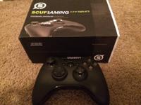 XBOX 360 Scuff Hybrid Gaming Controller with 4 paddles