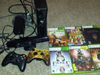 I am selling my xbox 360 along with my kinect, which
