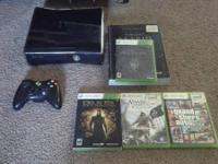 Selling my Xbox 360 so I can construct a video gaming