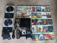 XBOX 360 Slim with 250GB hard drive in great working