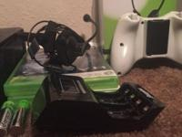 $120 4gb Xbox 360 slim 1hdmi cable 20gb hard drive
