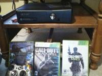 I have a nice black xbox 360 slim with a mw3