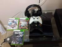 I am wanting to sell my 250 gig xbox 360 with 3 games
