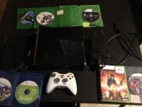 I'm selling my Xbox 360 Slim 250 GB (Glossy finish).
