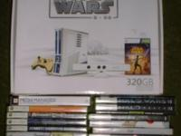 I have Xbox 360 Slim Star Wars Limited Edition with