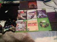 Hi i want to trade my xbox 360 and kinect and 21 games