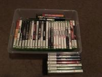 Xbox 360 slim in excellent working condition with built