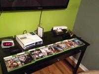 Star wars edition xbox(great condition), white kinect,