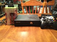 XBOX 360 with 6 Great sports games: Madden 25 NBA 2K14