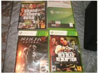 I'm selling my Xbox 360 with four games Mic 1xc turtle