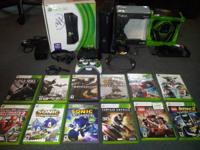 I am selling my used Xbox 360 with 250Gb hardrive. Its