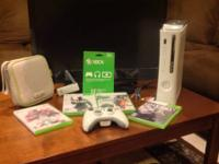 "I'm selling my Xbox 360 and 27"" Westinghouse flat"