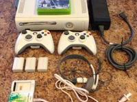 Used, reliable Xbox 360, Falcon model.  Comes with