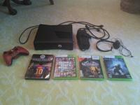 I am selling my XBOX 360 Slim 250 GB with 1 wireless