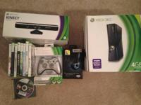 Xbox 360 4gb with 100gb inner hard drive mounted.
