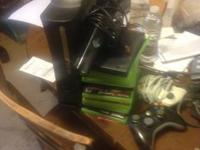 I'm selling my Xbox 360 Elite. Comes with 120gb hard