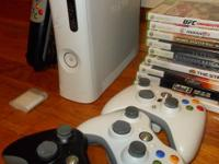 I have a XBox 360 and several Xtras for sale. Here is a