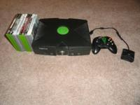 I have an initial XBOX in virtual mint condition. My