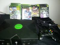 I have a perfect working condition XBOX along with all