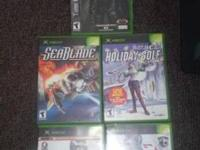 Splinter Cell , Sea Blade, Holiday Golf, Madden 06, &
