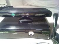 I HAVE A XBOX KINECT (250GB) MEMORY NEW WITH 3 GAMES,1