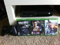 I'm selling my XBOX One 500Gb (Kinect variation) with