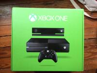BRAND NEW Xbox One (500 GB) package. I won this from