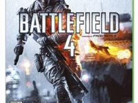 Selling two games for Xbox One console.  Battlefield 4