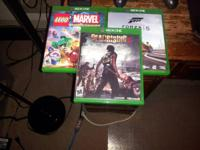 40 forza Dead rising and marel 35 each Email or text if