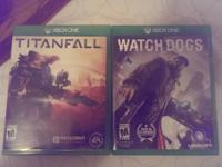 I have Titan fall and Watch Dogs. both are really brand