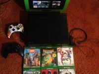 Im selling my Xbox One with the kinect all the cords,