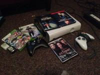 I have an initial white Xbox 360 with 120gb and 2