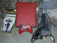 X box 360,3 games,64 mb memory card and one
