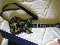 xbox360 guitar for guitar hero NO TRADES ALL SALES