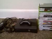 Xbox 360 with 21 games all wires included *cordless