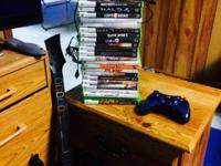Selling my Arcade edition white xbox360 with 25 games