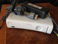 Xbox360 first gen (can be modded) with hard drive and
