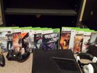 I have a very clean Xbox 360 Slim 250gb with 15+ games
