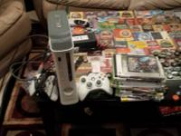 white Xbox 360 comes with above mentioned accessories